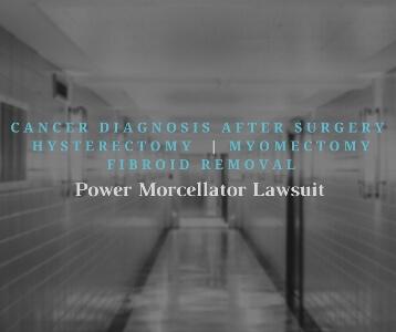 Power Morcellator Lawsuit