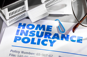 Photo of a home insurance policy