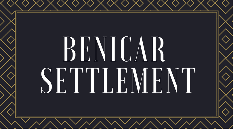 Benicar Settlement